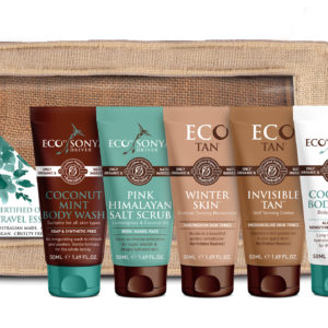 ECO Tan -Travel Essentials features 5 x 50ml tubes.