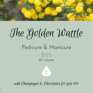 Golden Wattle Package Mothers Day