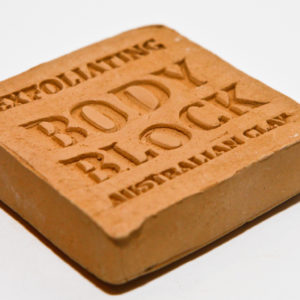 Corrynne's Clay Block For Body (brown) 130gram