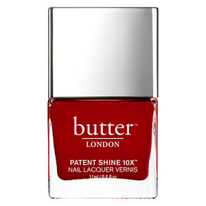 Her Majesty's Red Patent Shine 10X Nail Lacquer 11ml